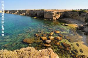 Punta della Mola, nella Riserva Marina del Plemmirio (Foto Pietro Nicosia)